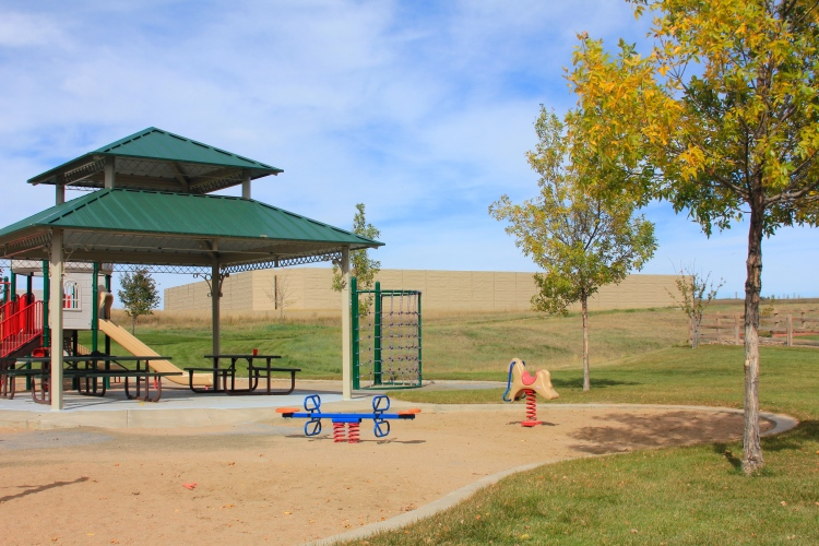 Another view from the same park in Vista Ridge, October 6, 2014.